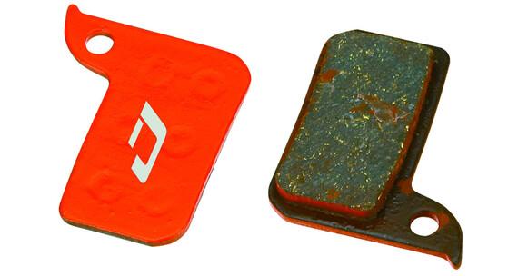 Jagwire Disc Sport Semi-metallic Remblok & Remschoen voor SRAM Red/ Force/ Rival grijs/rood